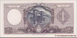Argentine - p260b - 1peso - L. 12.962 and 13.571 - Banco Central de la República Argentina