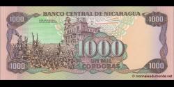 Nicaragua - p156b - 1 000 Córdobas - 1985 - Banco Central de Nicaragua