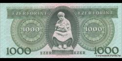 Hongrie - p176b - 1.000 Forint - 16.12.1993 - Magyar Nemzeti Bank