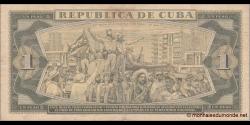 Cuba - p102b - 1 Peso - 1981 - Banco Nacional de Cuba