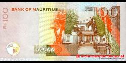 Maurice - p56b - 100 Roupies - 2007 - Bank of Mauritius