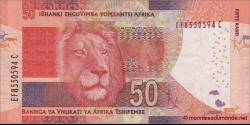 afrique du sud - p140a - 50 rand - ND (2013) - South African Reserve Bank / iBhanki enguVimba yoMzantsi Afrika / Bannga ya Vhuk