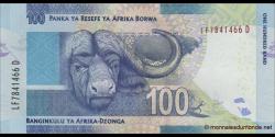 afrique du sud - p141a - 100 rand - ND (2013) - South African Reserve Bank / Panka ya Resefe ya Afrika Borwa / Banginkulu ya Af