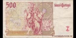 Portugal - p187a4 - 500 Escudos - 17.04.1987 - Banco de Portugal