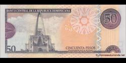 République Dominicaine - p183c - 50 Pesos Dominicanos - 2012 - Banco Central de la República Dominicana