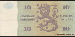 Finlande - p111a53 - 10Markka / Mark - 1980 - Suomen Pankki / Finlands Bank