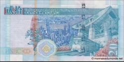 Hong Kong - p207b - 20 Dollars - 01.01.2005 - Hong Kong and Shanghai Banking Corporation Limited