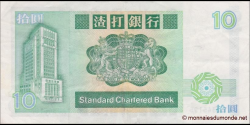 Hong Kong - p278b - 10 Dollars - 01.01.1986 - Standard Chartered Bank