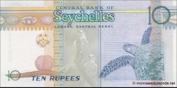Seychelles - p42 - 10 Roupies - 2013 - Central Bank of Seychelles / Labank Santral Sesel