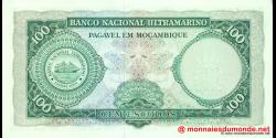 Mozambique - p117 - 100 Escudos - 27.03.1961 (1976) - Banco de Moçambique