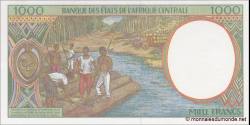 Tchad - p602Pg - 1.000 Francs - 2000 - Banque des États de l'Afrique Centrale