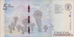 Colombie - p459 - 5.000 Pesos - 19.08.2015 - Banco de la República
