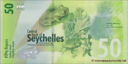 Seychelles - p49 - 50 Roupies - 2016 - Central Bank of Seychelles / Labank Santral Sesel