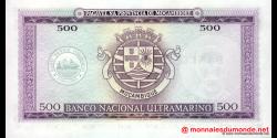 Mozambique - p118 - 500 Escudos - 22.03.1967 (1976) - Banco de Moçambique