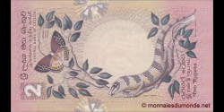Sri - Lanka - p083 - 2 Roupies - 26.03.1979 - Central Bank of Ceylon