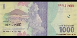 Indonésie - p154 - 1.000Roupies - 2016 - Bank Indonesia