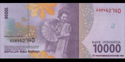 Indonésie - p157 - 10.000Roupies - 2016 - Bank Indonesia