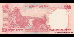 Inde - p103d - 20 Roupies - 2013 - Reserve Bank of India