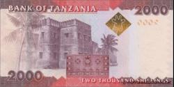 Tanzanie - p42b - 2.000 Shilingi - ND (2015) - Benki Kuu ya Tanzania / Bank of Tanzania