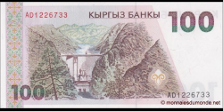 Kirghizistan - p12 - 100Som - ND (1994) - Kyrgyz Banky