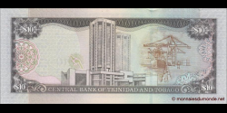 Trinidad et Tobago - p48 - 10 Dollars - 2006 - Central Bank of Trinidad and Tobago