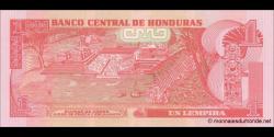 Honduras - p096b - 1 Lempira - 12.06.2014 - Banco Central de Honduras