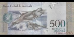 Venezuela - p94a - 500 Bolívares - 18.08.2016 - Banco Central de Venezuela