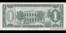 Paraguay - p193b - 1 Guarani - L. 25.03.1952 (1963) - Banco Central Del Paraguay