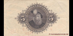 Suède - p33ai - 5 Kronor - 1952 - Sveriges Riksbank
