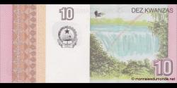 angola - p151B - 10 kwanzas - 10.2012 - Banco Nacional de Angola