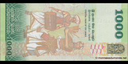 Sri - Lanka - p127c - 1 000 Roupies - 04.02.2015 - Central Bank of Sri Lanka