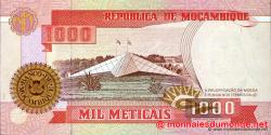 Mozambique - p135 - 1.000 Meticais - 16.06.1991 - República de Moçambique