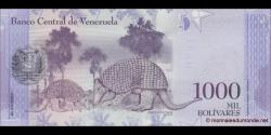 Venezuela - p95a - 1000 Bolívares - 18.08.2016 - Banco Central de Venezuela