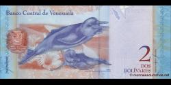Venezuela - p88a - 2 Bolívares - 20.03.2007 - Banco Central de Venezuela