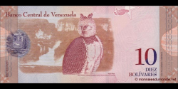 Venezuela - p90b - 10 Bolívares - 03.09.2009 - Banco Central de Venezuela