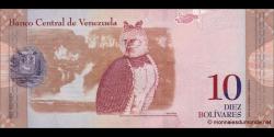 Venezuela - p90c - 10 Bolívares - 03.02.2011 - Banco Central de Venezuela