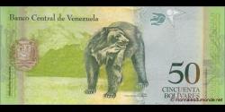 Venezuela - p92e - 50 Bolívares - 3.2.2011 - Banco Central de Venezuela