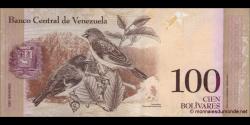 Venezuela - p93g - 100 Bolívares - 19.08.2014 - Banco Central de Venezuela