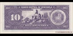 Venezuela - p61d - 10 Bolívares - 5 - 06 - 1995 - Banco Central de Venezuela