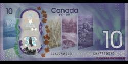 Canada - p112 - 10 Dollars - 2017 - Bank of Canada / Banque du Canada