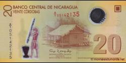 Nicaragua-p202a-20 cordobas-2007