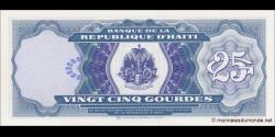 Haïti - p262 - 25 Gourdes - 1993 - Banque de la République d'Haïti