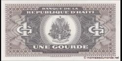 Haïti - p253 - 1 Gourde - 1989 - Banque de la République d'Haïti