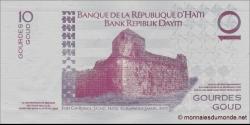 Haïti - p272a - 10 Gourdes / Goud - 2004 - Banque de la République d'Haïti / Bank Repiblik Dayiti