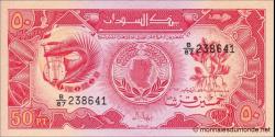Soudan - p38 - 50 Piastres - 1987 - Bank of Sudan
