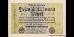 Allemagne - p106c - 10.000.000Mark - 22.08.1923 - Reichsbank
