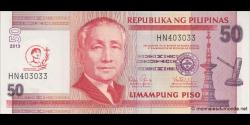 Philippines - p215 - 50Piso - 2013 - Bangko Sentral ng Pilipinas