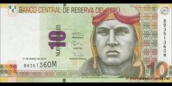 Pérou - p187 - 10 Nuevos Soles - 27.01.2013 - Banco Central de Reserva del Perú