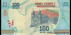 Madagascar - p-97- 100 ariary - ND (2017) - Banky Foiben'i Madagasikara