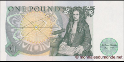 Angleterre - p377b - 1 Pound - ND (1984) - Bank of England
